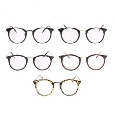 Korea men's fashion mall, Hong Chul style [NOHONGCUL.COM GLOBAL] Pretty Round Full Rim Glasses / Size : FREE / Price : 21.23 USD #mensfashion #koreafashion #man #KPOP #NOHONGCUL_GLOBAL #OOTD #glasses