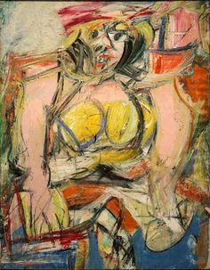 Willem de Kooning, Woman lV, 1952-1953