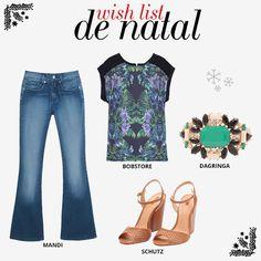Compre moda com conteúdo, www.oqvestir.com.br #Fashion #WhishList #Print #Shoes #Christmas #Bobstore #Mandi #Shutz #Dagringa #Shop