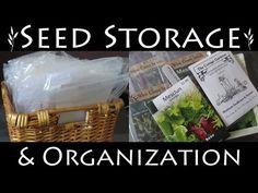 Seed Starting | Seed Storage & Organization