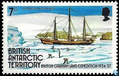 Postage Stamps - British Antarctic Territory - Expedition Graham-country