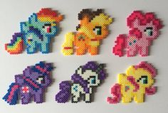 Made with high-quality perler beads, no matter how old you are, you can love Rainbow Dash :)  Average Size: 4 x 5  *This item is ready made and will be shipped within 1-2 business days. Feel free to ask any questions and I will do my best to answer them as quick as I can.