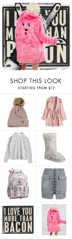 """""""Untitled #676"""" by knmaem ❤ liked on Polyvore featuring Disney, PBteen, WithChic and Lazy Oaf"""