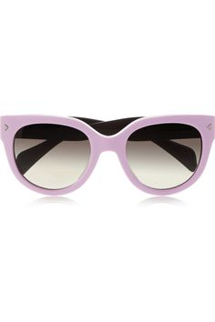 7b808c36186c Prada - Cat eye acetate sunglasses