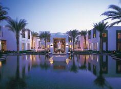 The Chedi Hotel in Muscat Oman, by Jean-Michel Gathy.