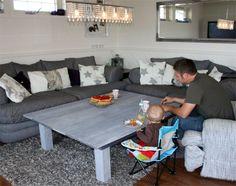 Tusen Ting: Sofabord av hjemmelaget drivved