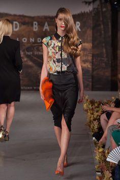 Pinterest Fashion Week - Ted Baker AW13
