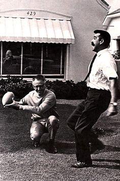 Charles Schulz and Bill Melendez.