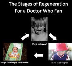 Doctor Who fans regenerate on the inside.