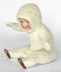 "SB033b |  This is an antique ""snow baby,"" the original!"