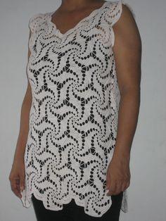 Crochet modular top