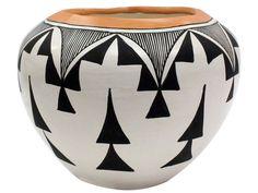 "Victoria Garcia, Acoma Pottery, Bowl, 5 1/2"" x 6 1/2"""