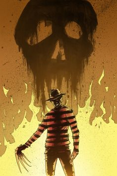 A Nightmare on Elm St. - Freddy Krueger by Tyler Champion