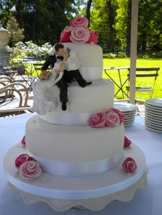 Bruidstaart van Zoet! in Burgum Friesland