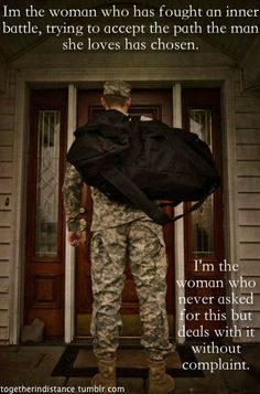 Standing behind my soldier