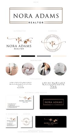 Nora Adams Kit , Logo Design, - peachcreme.com