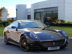 Used 2006 ( reg) Black Ferrari 612 for sale on RAC Cars