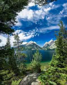 Jenny Lake, Grand Teton National Park, Wyoming; photo by .Dean Fikar