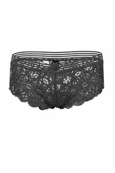 2887aef2a54b Imported Nylon Black BUL Ladies all Lace Hipster All Lace Hipster Elastic  Band w/Translucent Mesh Nylon
