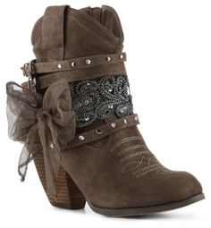 Not Rated Sharkee Western Bootie and other apparel, accessories and trends. Browse and shop 8 related looks. Short Cowboy Boots, Cowgirl Boots, Short Boots, Boho Boots, Casual Boots, Harley Davidson Boots, Boot Bling, Fashion Boots, Cowgirl Fashion