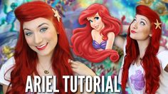 ARIEL - THE LITTLE MERMAID // HAIR & MAKEUP TUTORIAL