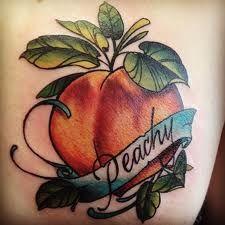would be a cute Bijoux tattoo Up Tattoos, Time Tattoos, Future Tattoos, Tattoo You, Cool Tattoos, Awesome Tattoos, Tatoos, Peach Tattoo, Ink Addiction