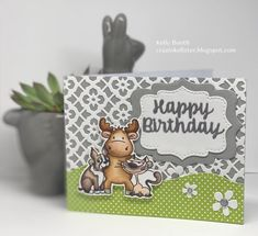 Riley & Co STAMPtember® 2020 Exclusive Collaboration! - Simon Says Stamp Blog I Love Simon, Simon Says Stamp Blog, Die Cut Cards, Happy Birthday Cards, Tim Holtz, The Life, Badge, Card Making