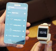 Samsung Note 3 and Galaxy gear