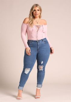 48 Outfit That add Beauty to Plus Size Women This Year fashion # fashion Outfits Plus Size, Curvy Outfits, Plus Size Dresses, Fashion Outfits, Plus Size Clothing, Look Plus Size, Plus Size Model, Plus Size Tops, Curvy Plus Size