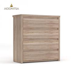 Κομότα με 4 συρτάρια. Από την Alphab2b.gr Outdoor Furniture, Outdoor Decor, Outdoor Storage, Drawers, Home Decor, Decoration Home, Room Decor, Set Of Drawers, Home Interior Design