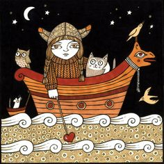 'Vera's Viking Voyage' by Anita Inverarity