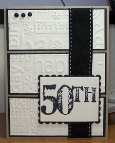 embossed Birthday card by NinoGabitashvili