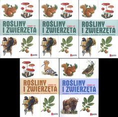 Rośliny i zwierzęta. Książka z kluczem do rozpoznawania. Komplet, praca zbiorowa, Agora SA, 2008, http://www.antykwariat.nepo.pl/rosliny-i-zwierzeta-ksiazka-z-kluczem-do-rozpoznawania-komplet-p-13759.html