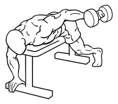Lying One Arm Rear Lateral Raise 2
