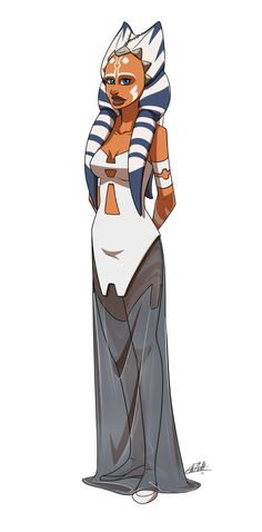 Ahsoka The White Star Wars Fan Art, Star Wars Canon, Star Wars Concept Art, Star Wars Rebels, Star Wars Clone Wars, Character Art, Character Design, Star Wars Images, Ahsoka Tano