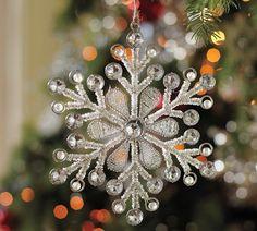 Cristal bead snowflake