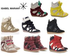 Must-Have: High-Top Wedge Sneakers by Isabel Marant
