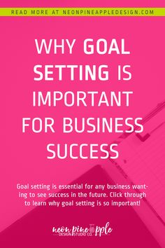Many creatives completely skip the step of goal setting for their business. For me, it started to make a huge difference when I would sit down for some goal setting. Click through to read more about why I find goal setting important for business success! Business Branding, Business Tips, Online Business, Pinterest For Business, Be Your Own Boss, Blog Tips, Read More, Pineapple Design, Goals