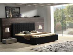 Le lit Anivia au design classique mais élégant répondra à toutes vos attentes. Grâce à sa tête de lit capitonnée et son look  moderne, le lit Anivia s'adaptera facilement à votre intérieur.