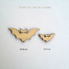 Charming Laser cut Bats for Halloween decor / Halloween props/ Halloween / Laser cut wood/ Halloween decor/ Halloween decorations/ Bat decor by DosheEcoDecorCharms on Etsy