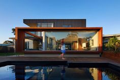 XYZ House by Mark Aronson Architecture (via Lunchbox Architect) #COLORBONDsteel