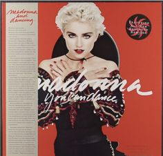 Madonna. You Can Dance. Record Store Day. Red Vinyl. LP.