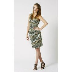 Marta dress in retro pattern - £32.00