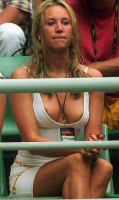 Erotic nipple slips in public