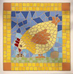 chicken mosaic - Buscar con Google