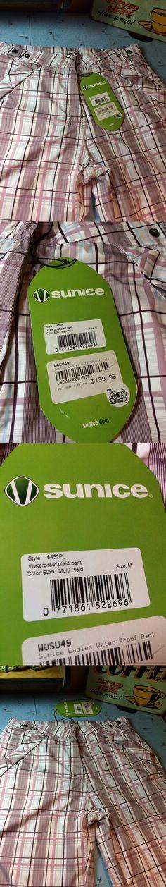 Pants 181148: Sunice Large Typhoon Waterproof Golf Pants Womens Rain Gear Jogging $139 New -> BUY IT NOW ONLY: $49.99 on eBay!