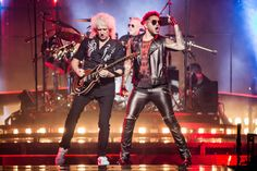 Queen & Adam Lambert on top of the 'World' at the United Center | Chicago Sun-Times
