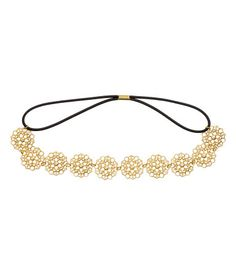 Hairband | Gold-colored | Women | H&M US