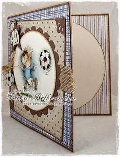Cards By Becky: Football Crazy Football, Frame, Fun, Cards, Photography, Decor, Soccer, Picture Frame, Futbol