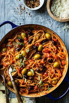 Vegetable Recipes, Vegetarian Recipes, Healthy Recipes, Pasta Recipes, Dinner Recipes, Cooking Recipes, Italian Dishes, Italian Recipes, One Pot Meals